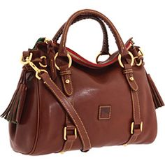 Dooney:  I've seen it, touched it, smelled it and am so in love with it. I wonder if this satchel comes in bright colors, too?