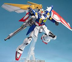 Gundam wing images gundam 03 bandai master grade wing gundam new images