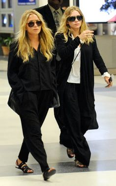 Olsen Twins Airport Outfit