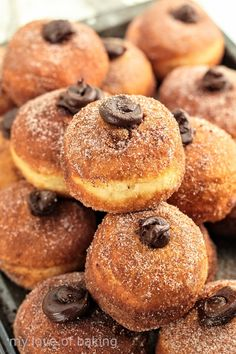 Italian Donuts, Making Sourdough Bread, Chocolate Malt, Sour Taste, Dry Yeast, Doughnuts, Tray Bakes, Food Processor Recipes, Homemade
