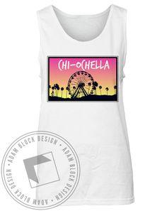Chi Omega Ochella Tank by Adam Block Design | Custom Greek Apparel & Sorority Clothes | www.adamblockdesign.com