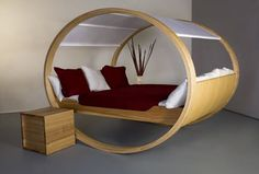 Rocking bed - nice idea in theory, but in all practicality, no.  Perhaps if you made up the bed to rock from side to side...