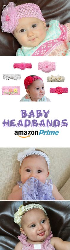 Baby Headbands now available on Amazon Prime!
