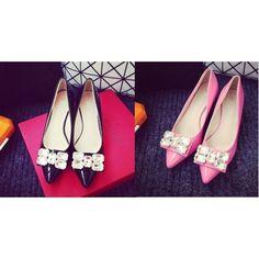 Dimensione di lusso 34 35-39 Scarpe Gala scarpe festa con strass di piccola dimensione scarpe
