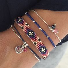 Luxury Jewelry : Little Wishes - Royal Blue - Seed Bead Jewelry, Bead Jewellery, Beaded Jewelry, Women's Jewelry, Jewelry Holder, Loom Bracelet Patterns, Bead Loom Bracelets, I Love Jewelry, Jewelry Making
