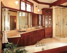 Master Bathroom Decorating Ideas Master Bathroom This Traditional Master Bath Is Bright Airy
