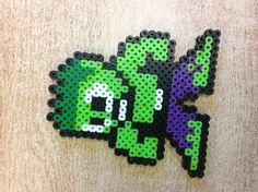 Hulk perler beads by Molly W.