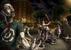 zombies | Zombies by Aioras 45 Awesome Apocalyptic Zombie Artworks