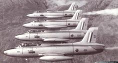 ☆ South African Air Force ✈ Their first show on 24 November at the opening of the Atlas Aircraft Corporation flying the Aermacchi (Atlas Impala). South African Air Force, F14 Tomcat, Military Jets, Aircraft Design, Korean War, Falcons, Impala, Fighter Jets, Aviation