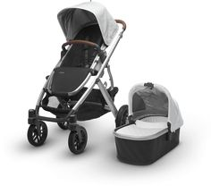 The VISTA is an all in one stroller and car seat. This convertible stroller system can carry up to three children from birth to toddler years making it the best all in one stroller and car seat. Get more details on the Vista all in one stroller system from UPPAbaby.