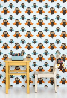 #Kinderkamer met schattige uiltjes | #Kidsroom with cute owls