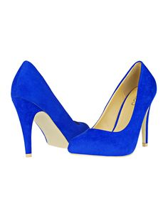 I want to buy me some royal blue heels! I really like this color
