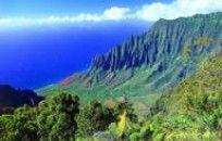 Kauai Hawaii Christmas Valley Kalalau Background Travel wallpaper