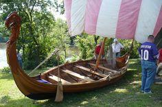 "Viking Boat ""Yrsa"" S. Elgin Illinois   by oydman Scandinavian Day celebration"