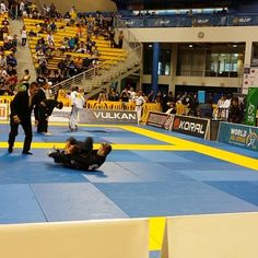Devon Delbrugge chokes out GF Team in the Sweet 16 round of the World Championships.