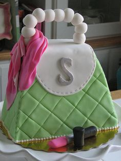 Purse Cake by sugarcrushmiami, via Flickr