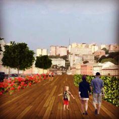 Sopraelevata Genova - progettare spazi verdi
