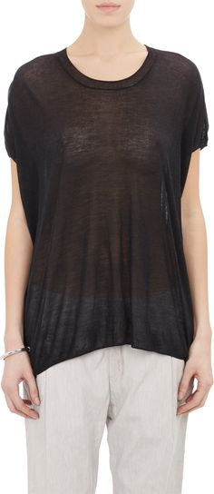 Pas de Calais Lightweight Short-Sleeve Sweater at Barneys.com