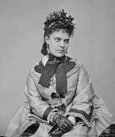 Matthew Brady photo Lady, - -dated between 1860-1865 Source NARA via Flickr Commons