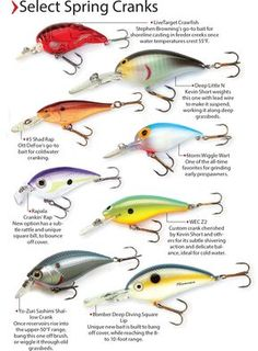 Jerkbaits And Crankbaits For Bass - In-Fisherman