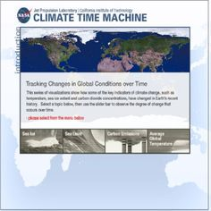 More resources from NASA - free climate change educational resources!