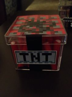 TNT Minecraft - stik