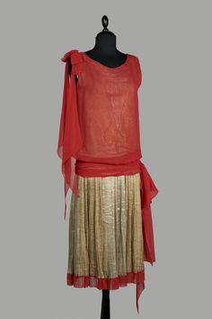 Callot Soeurs, dress, ca. 1925