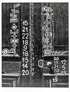 Série Canaille (version numérique) de Maurice Lemaitre D.R 1950-1964. Maurice, Follow Me On Instagram, City Photo, Typography, Artist, Design, Letterpress, Artists