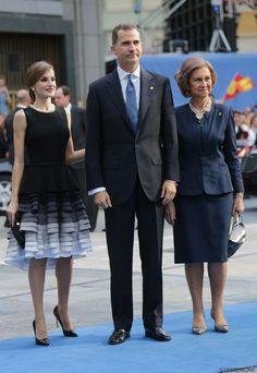 Letizia en los premios Princesa de Asturias 2015: así vistió la reina