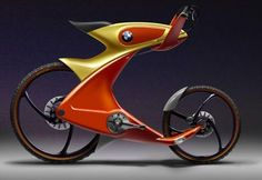 Check out this futuristic and unusual bike.