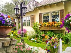 such a lovely cottage