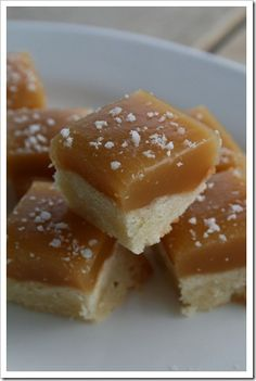 sea salt caramel shortbread.