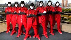 Sickest dance crew I've seen #Jabbawockeez