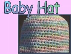 Crochet Geek : Crochet Baby Beanie Cap - Half-Double Crochet