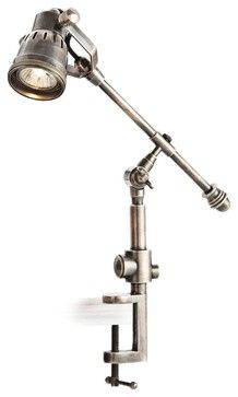 Atelier task table clamp lamp bronze 209 restoration hardware 22 traditional arteriors home karl vintage silver clamp desk lamp traditional table lamps mozeypictures Gallery