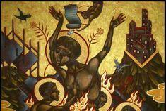 Πόσες είναι οι αιτίες της αμαρτίας και ποιες οι βαθμίδες τους Italian Painters, Contemporary Artists, Graffiti, Painting, Google Search, Artists, Painting Art, Paintings, Painted Canvas