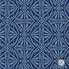 Tribal Batik Allover Craft Stencil from Royal Design Studio