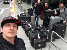 So u think we travel with enough ghost hunting gear? I can imagine Zac saying 'Let's load up, but first..... Letmetakeaselfie!'