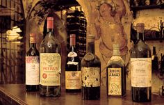 France's famed La Tour d'Argent,  the 427-year old restaurant on the Seine that boasts one of the largest wine cellars in the world  auctioned off six bottles of 1998 Chateau Haut-Brion white Bordeaux in 2009. They went for approximately $2,100 U.S. dollars