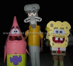 coolest homemade spongebob costume ideas for halloween