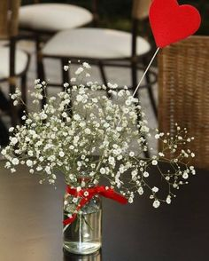 I'm not having baby's breath at my wedding. I'm not judging those who like it, but I just see it all the time and I want to be different :) Diy Wedding, Wedding Flowers, Dream Wedding, Wedding Day, Wedding Colors, Valentine Decorations, Wedding Decorations, Table Decorations, Party Deco