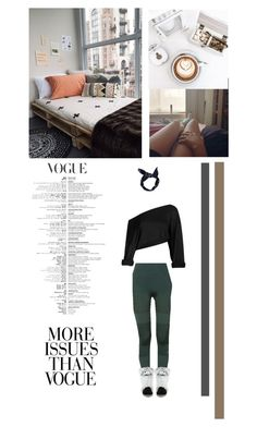 """Home Vogue"" by vintagehome on Polyvore featuring adidas, Versace 19•69, Boohoo and Wassup"
