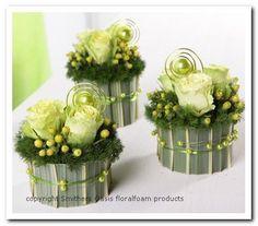 Voorbeelden Bloemschikken met Oasis ll - Goedkoop-bloemschikken & Pompoenzaden-decoshop.nl
