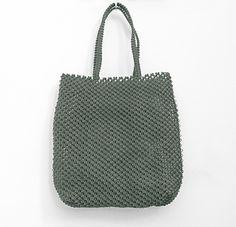 Sac à main, sac tissé, sac en macramé, sac en fil de pêche, sac ethnique, sac artisanal commerce équitable, MELOKANE…
