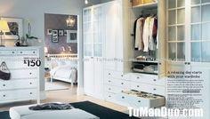 2007 IKEA USA   America Style  Bedroom   Garderobe