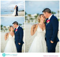 Topping off the 3 day wedding weekend with the wedding ceremony at the Grace Bay Club in the Turks and Caicos Wedding Hair And Makeup, Hair Makeup, Wedding Weekend, Wedding Day, Grace Bay Club, Turks And Caicos Wedding, Wedding Ceremony, Wedding Hairstyles, Destination Wedding