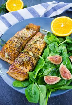 Garlic Orange Seared Salmon. Easy Salmon dinners and tips for cooking perfect salmon on the stovetop every single time!