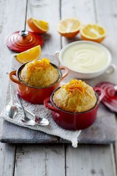 Orange Malva Pudding