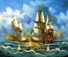 """Lighthouse Hand Painted Neoclassical Online Art Buy Paintings Reproduction Sailing Ships, Size: 24"""" x 20"""", $85. Url: http://www.oilpaintingshops.com/lighthouse-hand-painted-neoclassical-online-art-buy-paintings-reproduction-sailing-ships-1344.html"""
