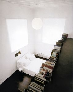 Bedroom & library